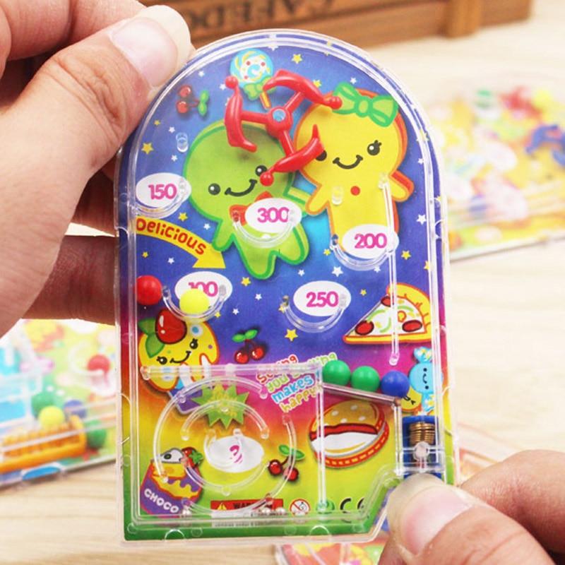 10PCS Cartoon Pin Ball Spiel Spielzeug Kinder Glücklich Geburtstag Party Favor Partei Souvenirs Baby Dusche Rückkehr Geschenk Präsentieren Pinata goody Bag