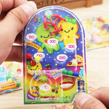 10PCS Cartoon Pin Ball Game Toy Kids Happy Birthday Party Favor Souvenirs Baby Shower Return