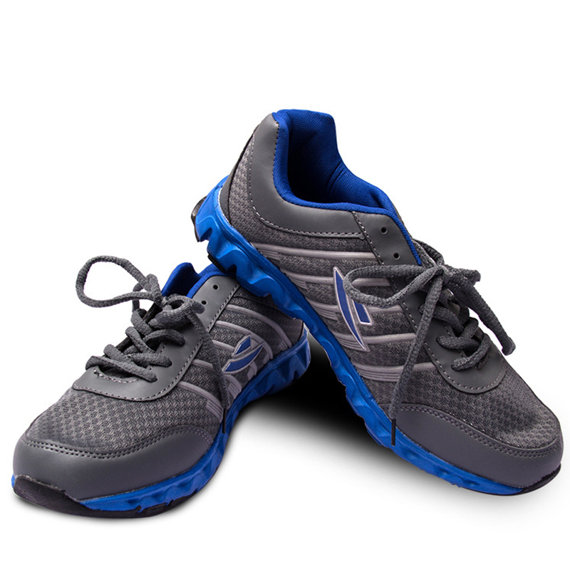 Marathon running shoes man font b sports b font running shoes comfortable Rubber New stripe Stability