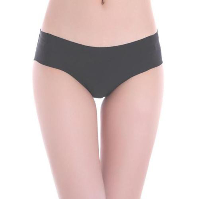 Panties Sexy Underwear Women Solid Invisible Seamless Soft Thong Lingerie Briefs Hipster Underwear Panties Women's Clothing