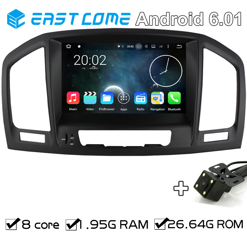 Pure Android 6.0 Car DVD autoradio For Opel Vauxhall Insignia 2008 2009 2010 2011 2012 2013 With Backup Camera GPS Octa Core CPU
