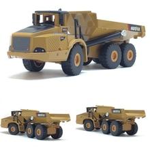Высокая симитация 1:50 сплав шарнирный самосвал модели грузовиков Игрушки Сплав Инженерная модель автомобиля Металл литья под давлением детские игрушки подарки
