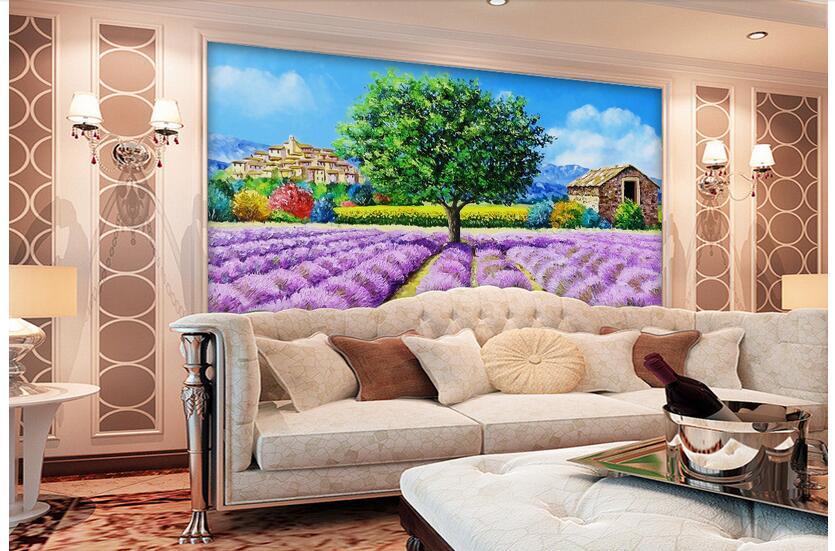 lila tapete beurteilungen online einkaufen lila tapete. Black Bedroom Furniture Sets. Home Design Ideas