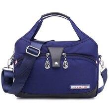 Нейлоновая женская сумка мессенджер, женские сумки, водонепроницаемая женская сумка на плечо, дизайнерские высококачественные сумки через плечо для девочек подростков