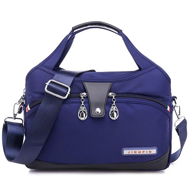 نايلون المرأة حقيبة ساعي حقائب سيدات مقاوم للماء حقيبة كتف الإناث مصمم عالية الجودة حقائب كروسبودي للفتيات المراهقات