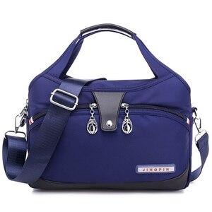 Image 1 - Nylon Women Messenger Bag Ladies Handbags Waterproof Female Shoulder Bag Designer High Quality Crossbody Bags For Teenager Girls