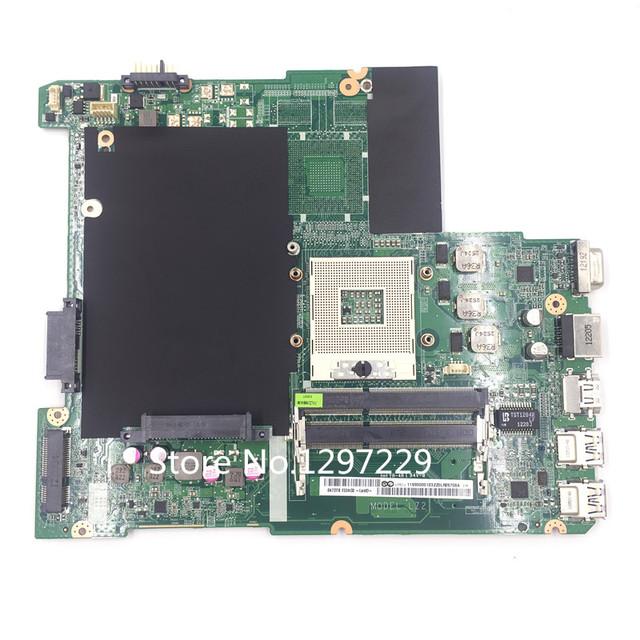 Placa de sistema motherboard laptop original para lenovo ideapad z480 laptop placa mãe mainboard