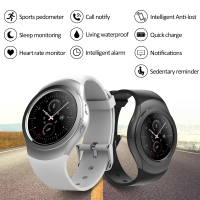 Smart Watch Heart Rate Measurement Bluetooth Temperature Monitoring Step Motion Meter All Round The Dial Siri