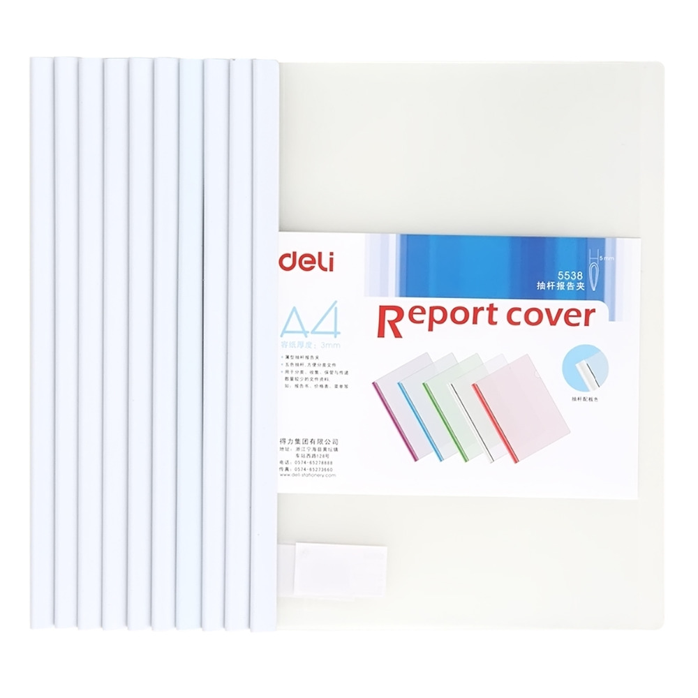 QSHOIC  a4 binder a4 10pcs/lot office file Folder A4 insert folder A4 Filing clip lever rod pumping Binder Report Folder