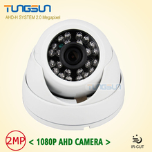 Home 2MP HD 1080P AHD Camera Security CCTV White Mini Dome Video Surveillance System IR Night Vision