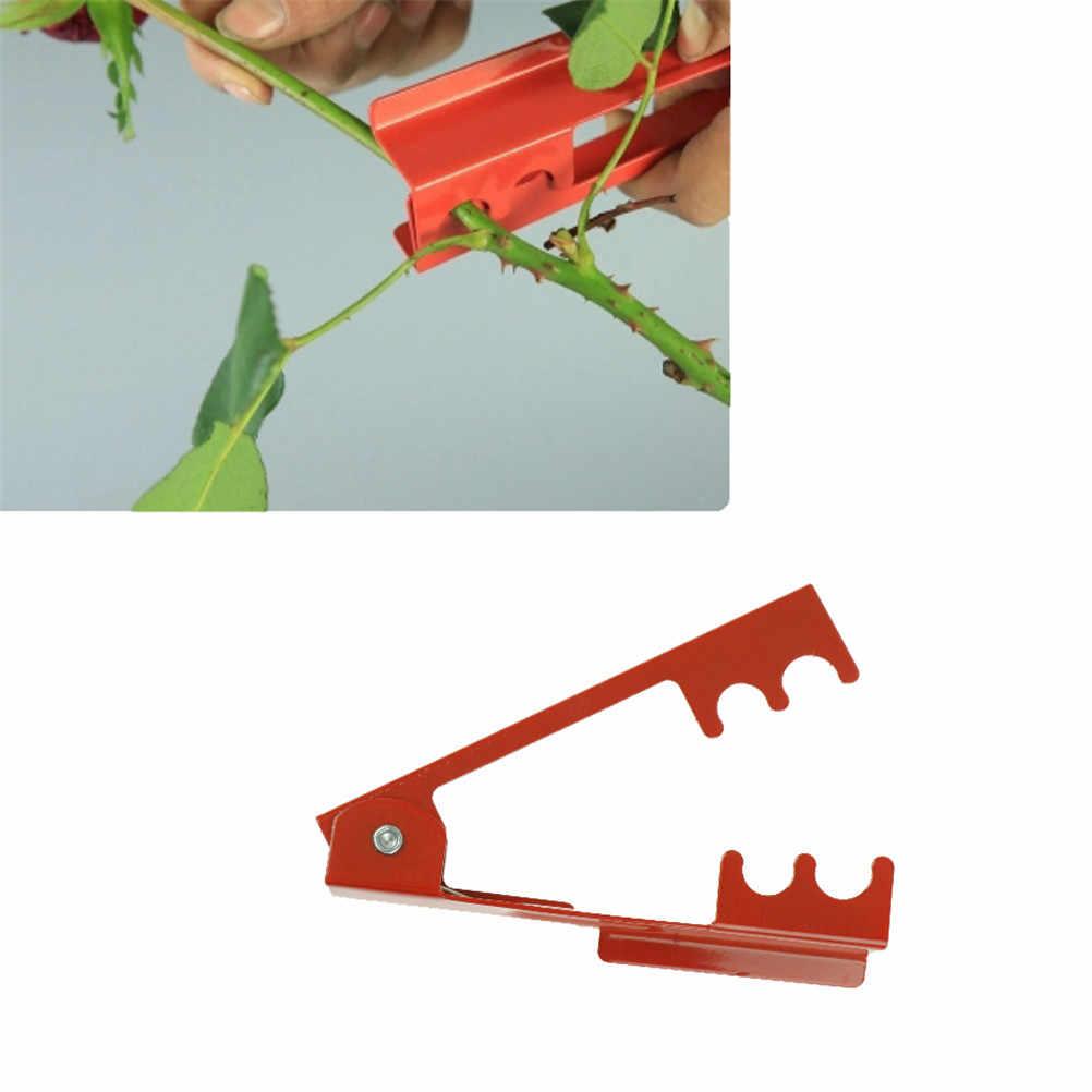 1 PC DIY 14.3*2.5 cm Mini narzędzie do cięcia kwiaciarnia metalowe Gardon kwiat róży cierń liść łodygi szczypce do zdejmowania izolacji róża szczypce usuwania zadziorów narzędzia ogrodowe