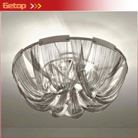Post Modern Tassel Ceiling Lamp LED Circular Simple Modern Splendid Creative Bedroom Living Room Nordic Lamps