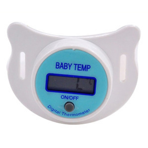 New Infants LED Pacifier Thermometer Baby Kids Health Safety Temperature Monitor LL2