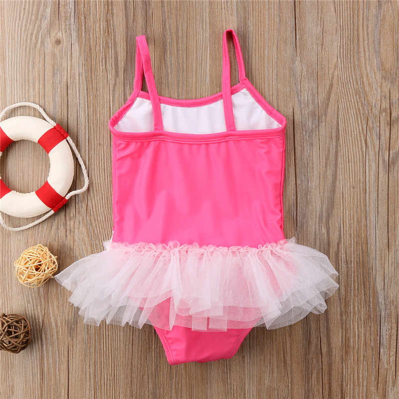 6dea71739ba01 ... 2018 Baby Girl Swimsuit Cute Cartoon Bathing Kids Swimwear Tankinis  Baby Girl Bikini Children Beach Wear ...
