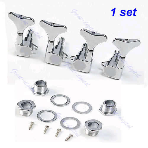 Aaaj Networking Tools New 6 Pcs Chrome Guitar String Tuning Pegs Tuners Machine Heads