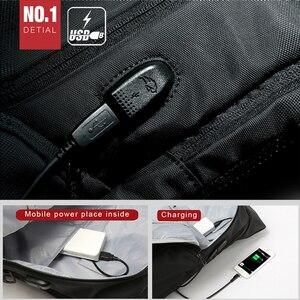 Image 5 - Modny plecak anty złodziej plecak męski nowy plecak na laptopa plecak szkolny plecak młodzieżowy plecak na ramię dla mężczyzn