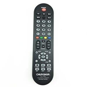 Image 3 - RM 436E 4 в 1 умный универсальный пульт дистанционного управления Многофункциональное управление Лер для ТВ AUX HOM DVD Sat функция обучения