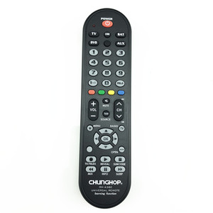 Image 3 - RM 436E 4 in1 inteligente controle remoto universal multifunções controlador para tv aux hom dvd sat função de aprendizagem