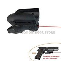 WIPSON NOUVELLE Tactique Red Dot Laser Sight 5 mw Laser pour pistolet/Pistolet gun laser pointeur pour 1911 Pistolet pour la chasse livraison gratuite