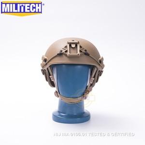 Image 2 - MILITECH M/LG CB NIJ level IIIA 3A Air Frame Aramid Bulletproof Airframe Helmet With Ballistic Test Report 5 Years Warranty