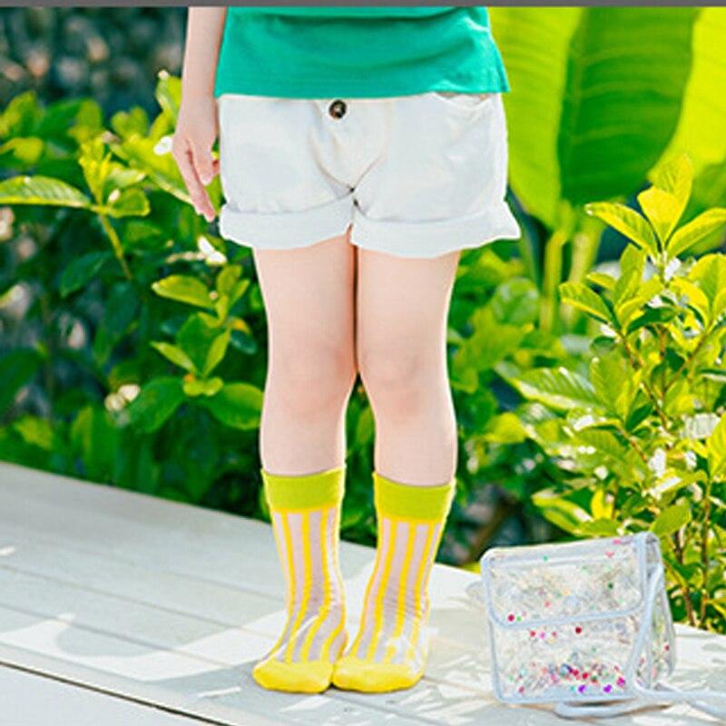 9a549fe7d 2 pair  Lot Baby Girls Spring Socks Summer Mesh Ultrathin Silk Baby Girl  Cool Socks