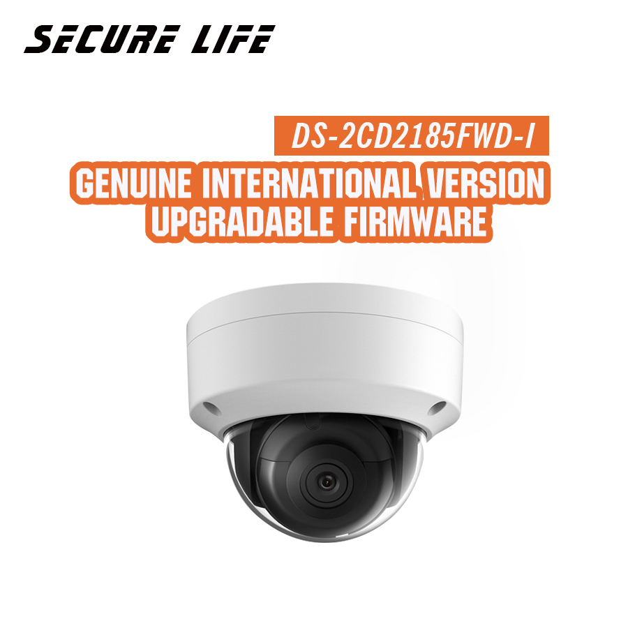 Free shipping English version DS-2CD2185FWD-I 8MP Network mini dome security CCTV Camera POE SD card 30m IR H.265+ IP camera dhl free shipping english version ds 2cd2785fwd izs 8mp wdr dome network ip cctv camera poe vari focal motorized lens h 265