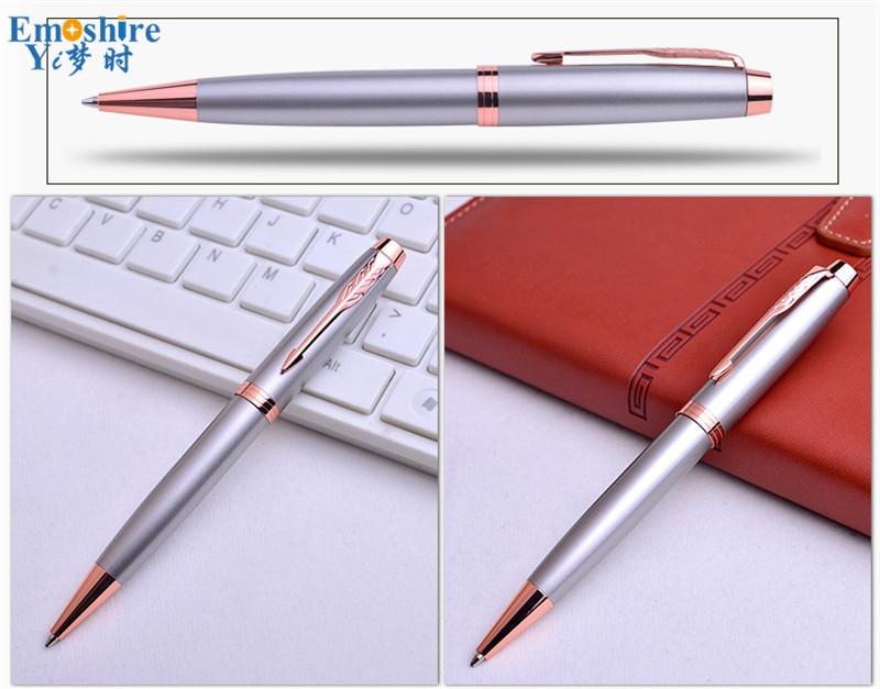 Emoshire Signature pen advertising gift wholesale Office stationery advertising pen custom pen Gift pen metal ballpoint pen (7)