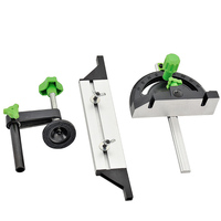 Adjustable Woodworking Miter Gauge and Box Joint Jig Kit For Table Router Saw DIY Cutting Accessory Protractor Kit