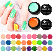 Mtssii 5ml Summer Color Gel Nail Polish Pure Paint Lacquer Soak Off UV LED Semi-permanent Long Lasting Art Varnish