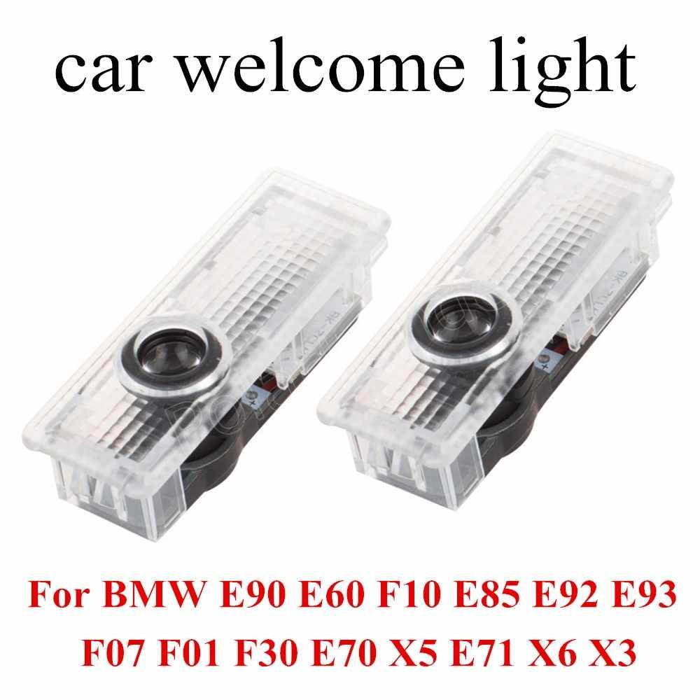 2 個 12 V 7 ワット車のドア Led ようこそレーザーロゴ Bmw のシャドウライト E90 E60 F10 E85 e92 E93 F07 F01 F30 E70 X5 E71 X6 X3