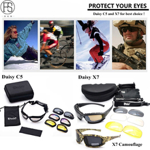 Hot!FS X7 Polarized Sunglasses C5 Tactical Glasses Airsoft Oculos Paintball Hiking Military Goggles Hunting Shooting Eyewear