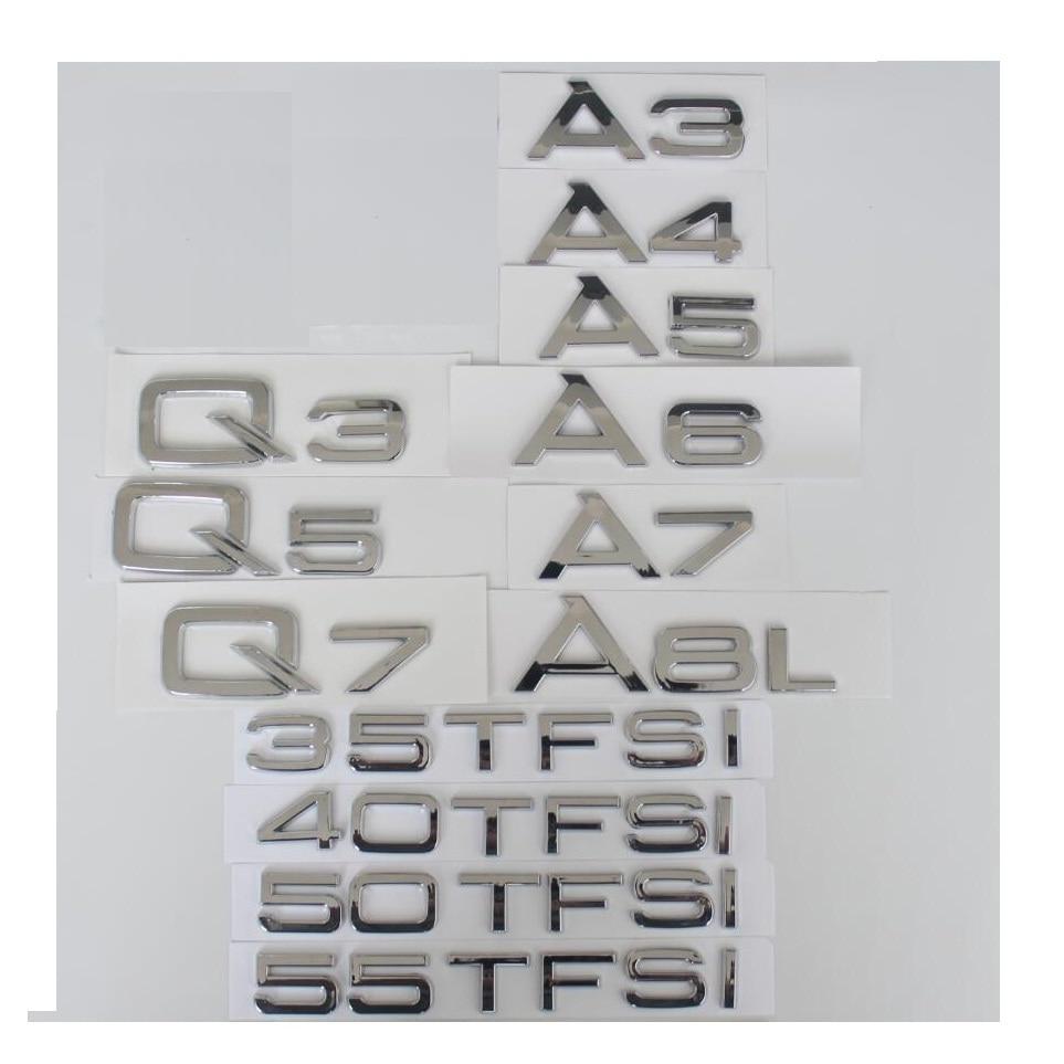 Genuine Audi A8 Q3 Q5 Q7 TFSI Rear Lettering Badge Emblem