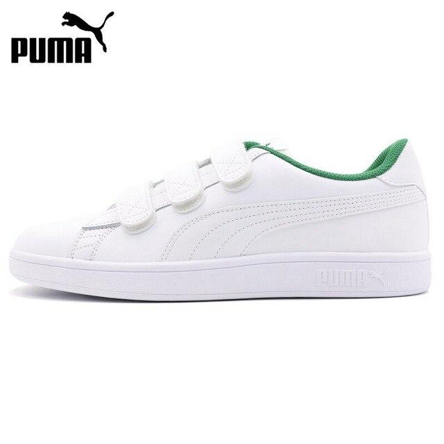 18d00689ae4d8 Nova Chegada Original 218 PUMA Smash v2 V Unissex Sapatos de Skate Tênis
