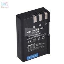 ENEL9a EN-EL9 аккумулятор 1200 мАч для Nikon D3X D60 D40 D40x D3000 D5000 PM106