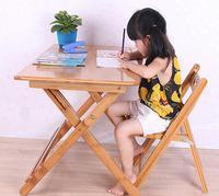 80*50 * (57 76) см дети учатся стол складной Bamboo письменный стол обучение студентов стол со стулом