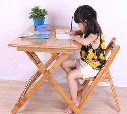80*50 * (57-76) см дети учатся стол складной Bamboo письменный стол обучение студентов стол со стулом