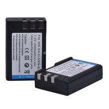 PowerTrust – batterie d'appareil photo AKKU, 2400mAh, 2 pièces, pour Nikon D40 D60 D40X D5000 D3000