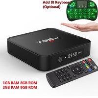 JRGK T95M Android 6 0 TV Box Amlogic S905X Quad Core Support HEVC UHD 4K Set
