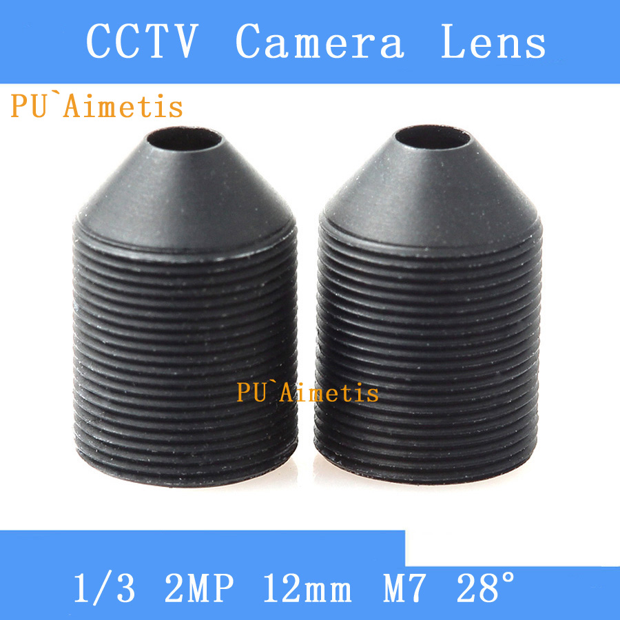 PU`Aimetis CCTV lenses 2MP 1/2.7 1/3 1/4 HD 12mm pinhole surveillance camera 28 degrees infrared M7 lens threadPU`Aimetis CCTV lenses 2MP 1/2.7 1/3 1/4 HD 12mm pinhole surveillance camera 28 degrees infrared M7 lens thread