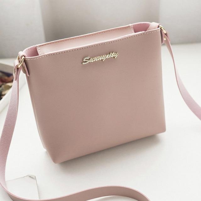 Fashion For Women Solid zipper Shoulder Bag Crossbody Bag Messenger Phone Coin Bag Small korean Style Bolsas Feminina Saco