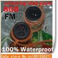 Nueva llegada Natación Impermeable Reproductor de MP3 Radio FM Del Auricular Al Por Mayor