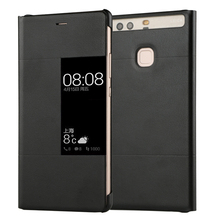 Luxury P9 Original View Window Pu Leather Flip Case For For Huawei P9 Plus