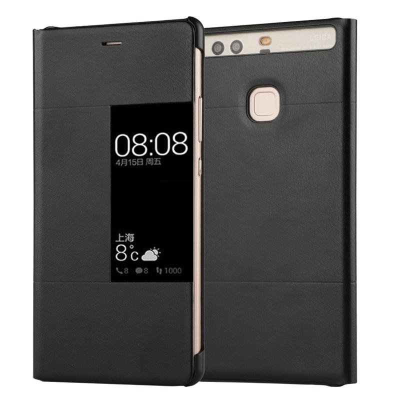 Роскошный чехол-книжка из искусственной кожи для Huawei P9 Plus