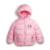 Retail 2-7y nuevos niños niñas hello kitty dibujos animados de invierno ropa de abrigo chaquetas de la capa del bebé embroma traje de navidad ropa