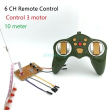6CH 27 40Mhz RC Remote control module transmitting receiver for car tank model