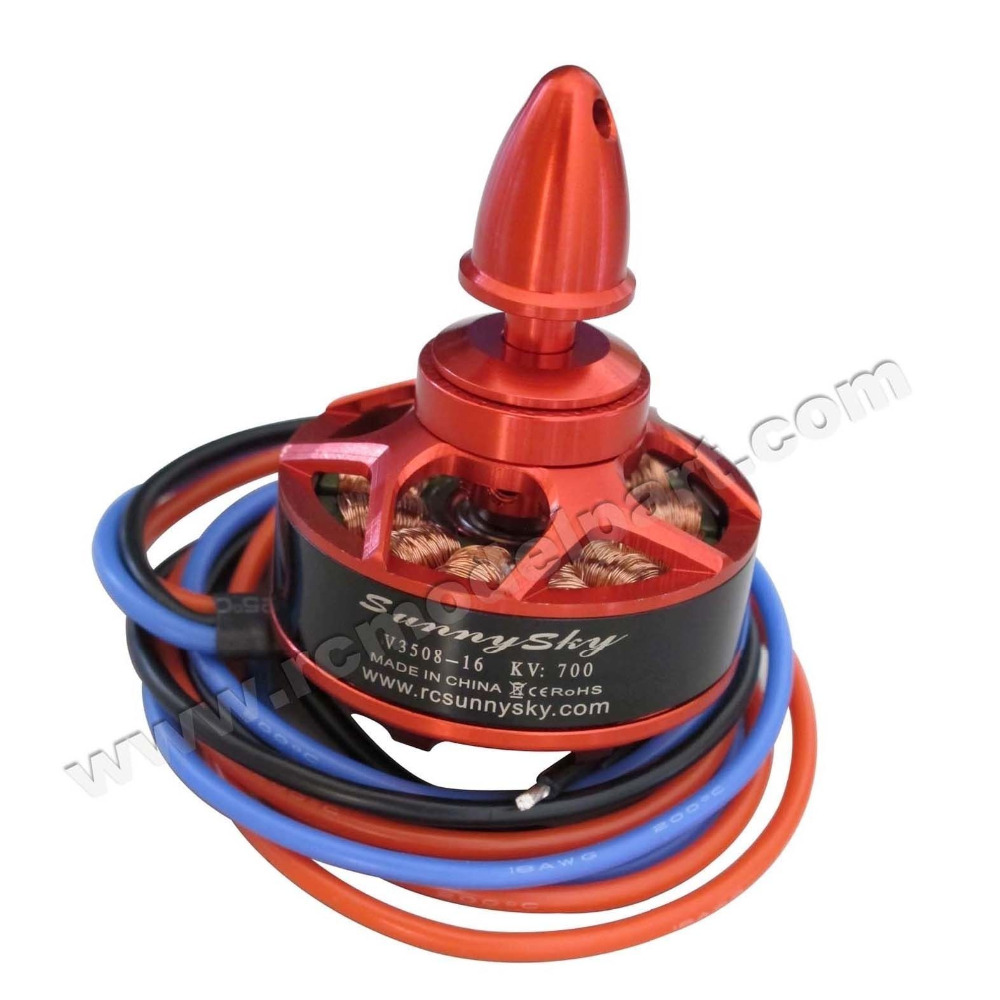 Sunnysky V3508-16 700KV 4S 400W Brushless Motor for 680-1000 Size Multi-rotor Quadcopter remote control toy sunnysky v3508 700kv none brush motor future sales models and parts
