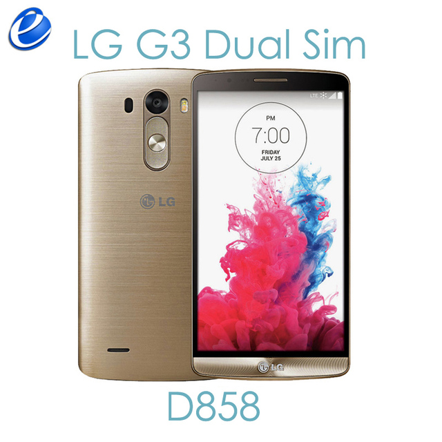 LG G3 Double LTE D858 32 GB Debloque Original GSM 3G Et 4G Android Sim