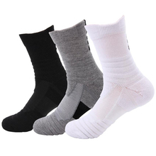 Men Sport Socks Breathable Cycling Bike Basketball Football Soccer Volleyball Badminton Running Socks Calcetines Ciclismo Hombre