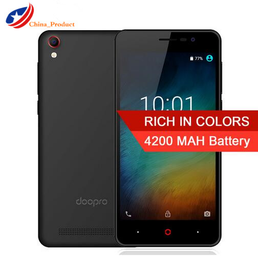 Doopro P3 5 0Inch 4200mAh Mobile Phone MTK6580 Quad Core Android 6 0 cell phone 1GB