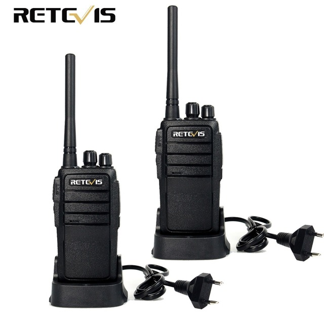 2pcs Portable Walkie Talkie Retevis RT21 UHF 2.5W Scrambler VOX Ham Radio Hf Transceiver 2 Way Radios Communication Equipments